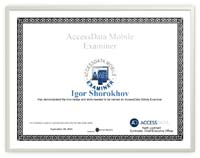 Access Mobile Examiner