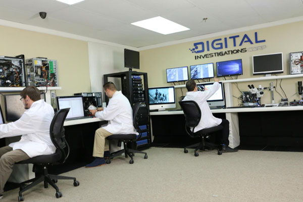 digital forensics video audio laboratory